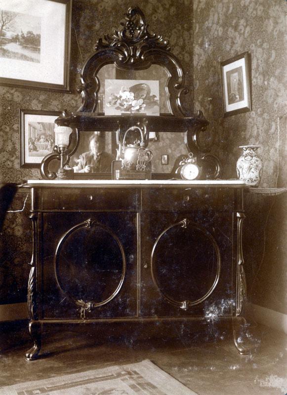 1930 interieur bovenwoning voorstraat archief voogt ouborg